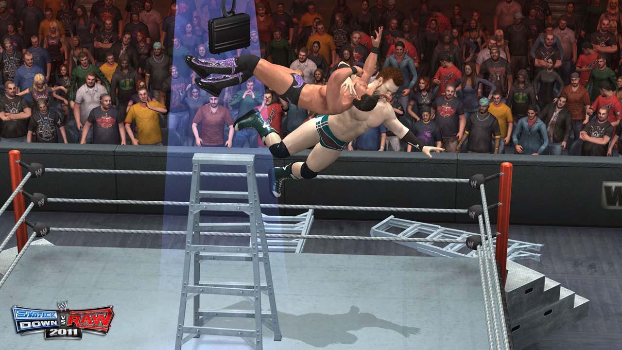 Wwe smackdown vs raw 2011 dvd gameplay screenshot