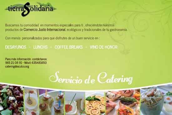 Pida nuestra catering en Alicante