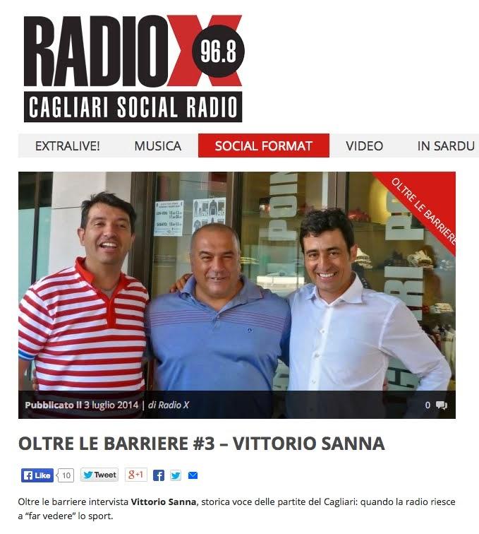 3) Andrea Ferrero e Andrea Mameli intervistano Vittorio Sanna