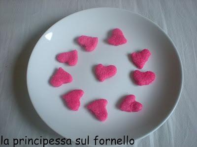 cuoricini rosa.... san valentino è nell'aria!