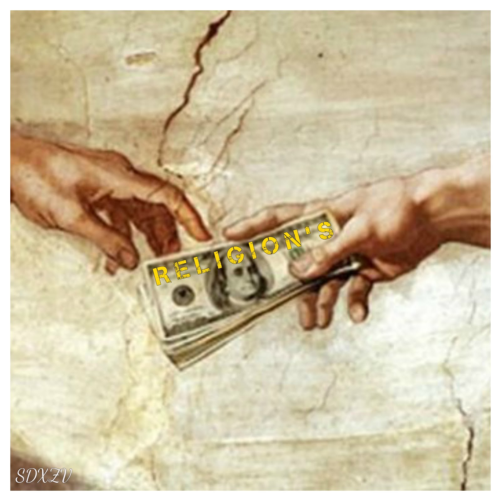 MONEY=RELIGION'S