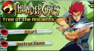 Thundercat Online Games on Thundercats   Games Free Online