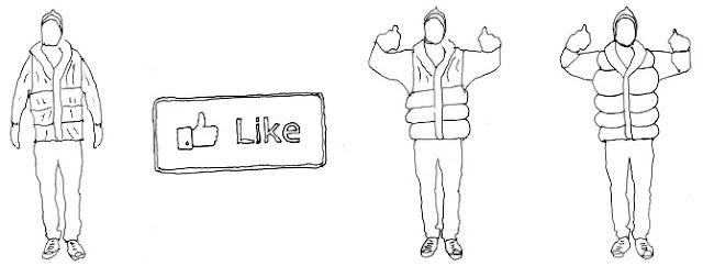 abrazos virtuales, videochats, interacción real por internet, acercar por tecnologia, inventos bizarros, cosas locas, facebook, me gusta, i like, distancias, mit, como un abrazo, melissa chow, reducir sensación separacion