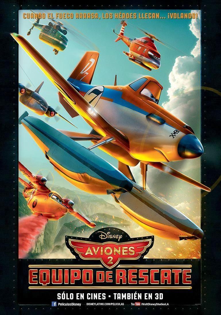 Aviones 2 | Equipo de Rescate 2014 HD Pelicula Completa 1 Link & Online