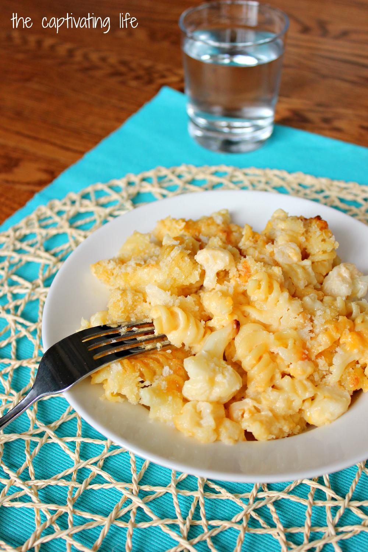 The Captivating Life: Cauliflower Mac and Cheese