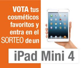 ¡Vota en los premios iDERMO y gana un iPAD Mini4!