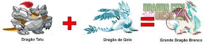 Cruzamento - Grande Dragão Branco