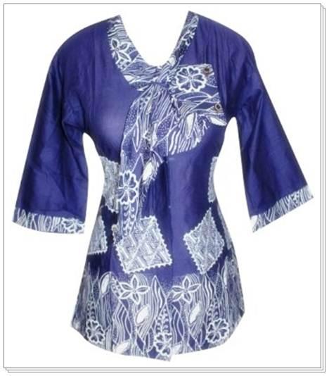 Model Baju Batik Songket Modern Model Baju Batik Wanita