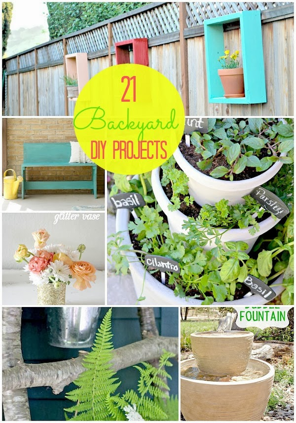 21 clever backyard projects for spring diy craft projects for Clever diy projects
