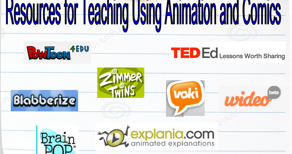 40+ Resources for Teaching Using Animation and Comics