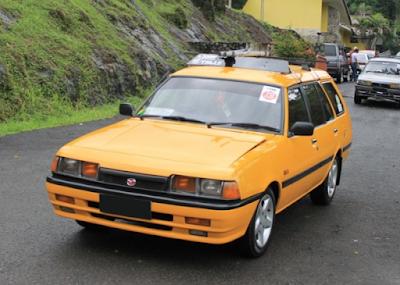 Eksterior Mazda Vantrend Modifikasi