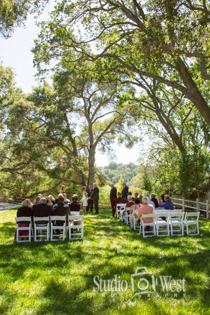 Atascadero wedding ceremony