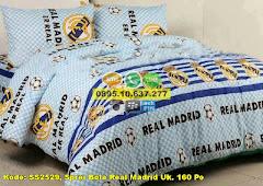 Harga Sprei Bola Real Madrid Uk. 160 Po Jual