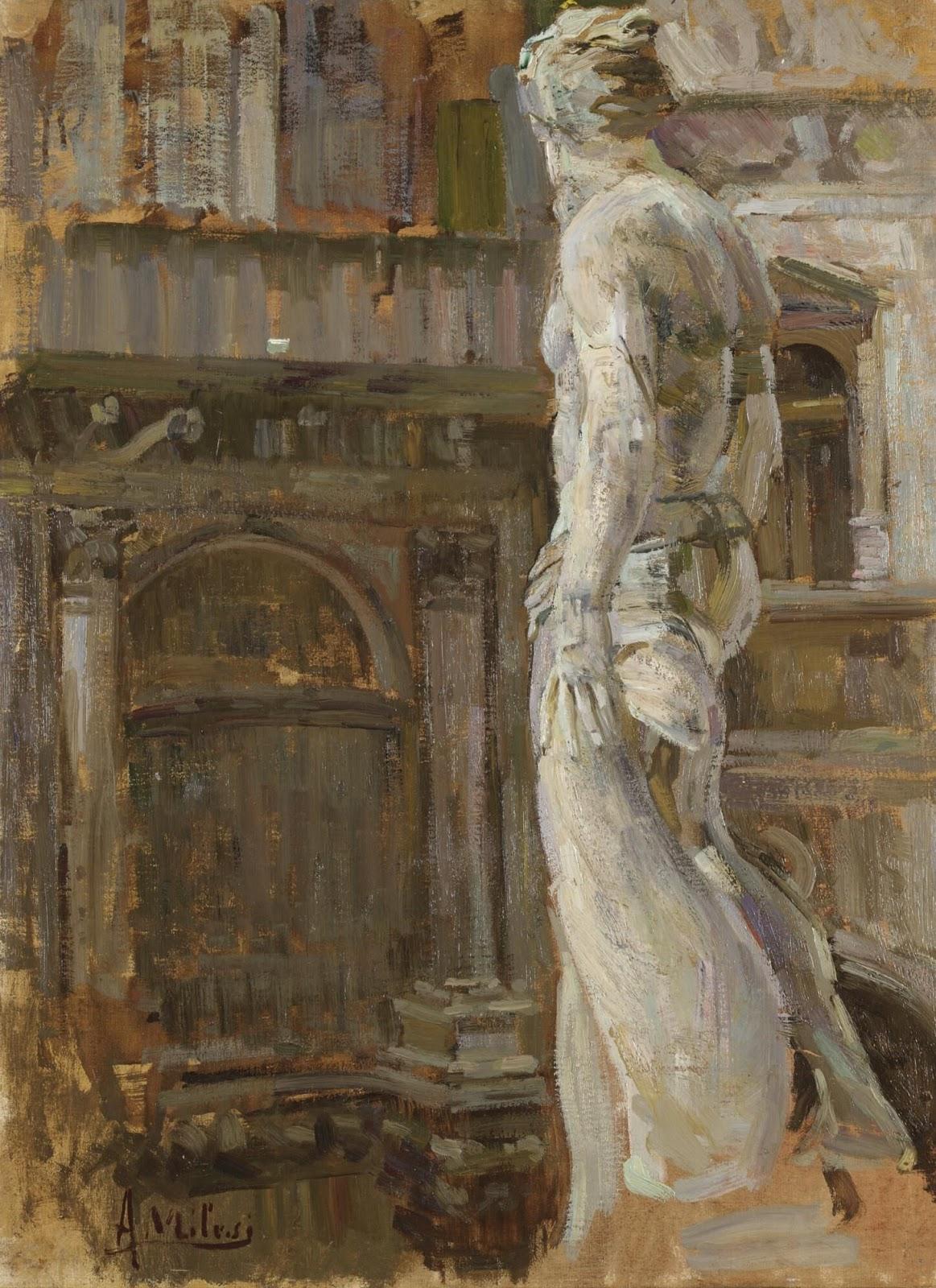 Alessandro Milesi Salone  dei  Giganti Interno  di  Palazzo  Ducale Venezia