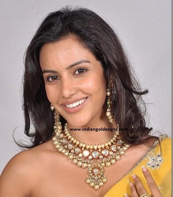 Buy Kundan Choker Necklace Priya Nacc10438c: Priya Anand In Designer Pearl And Kundan Jewellery