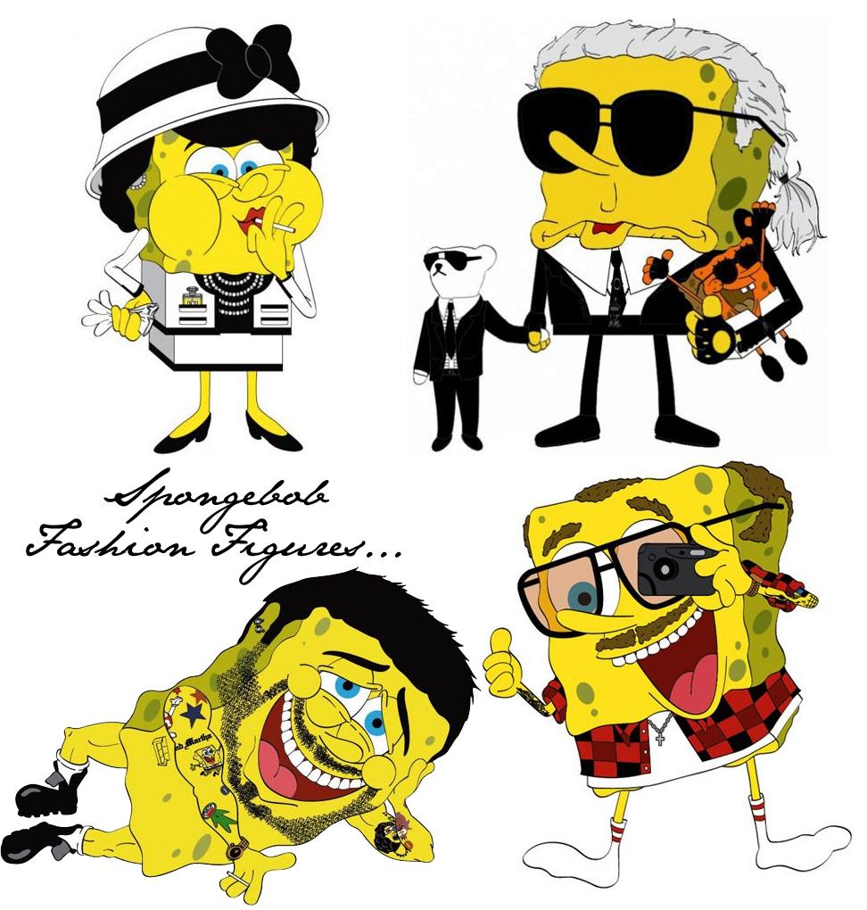 coco chanel u0027s spongebob transformation