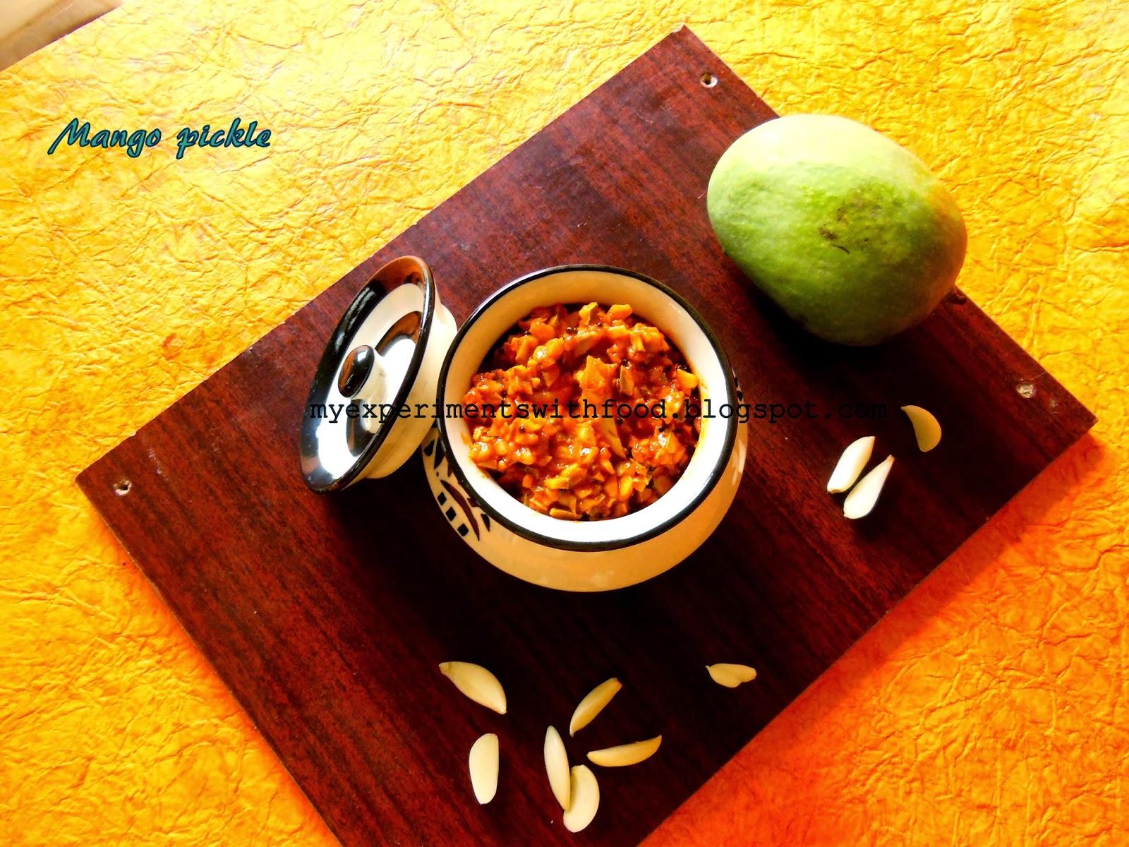 Nadan Manga Achar/ Kerala Style Mango Pickle