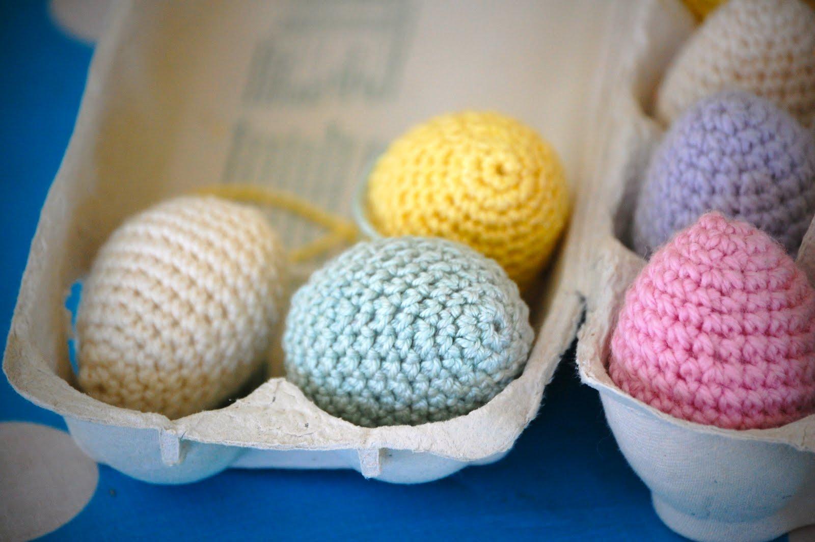 Crochet Easter Eggs : Greedy For Colour: Crochet Easter Eggs!!!