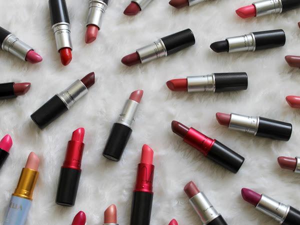 Mijn MAC lipstick collectie