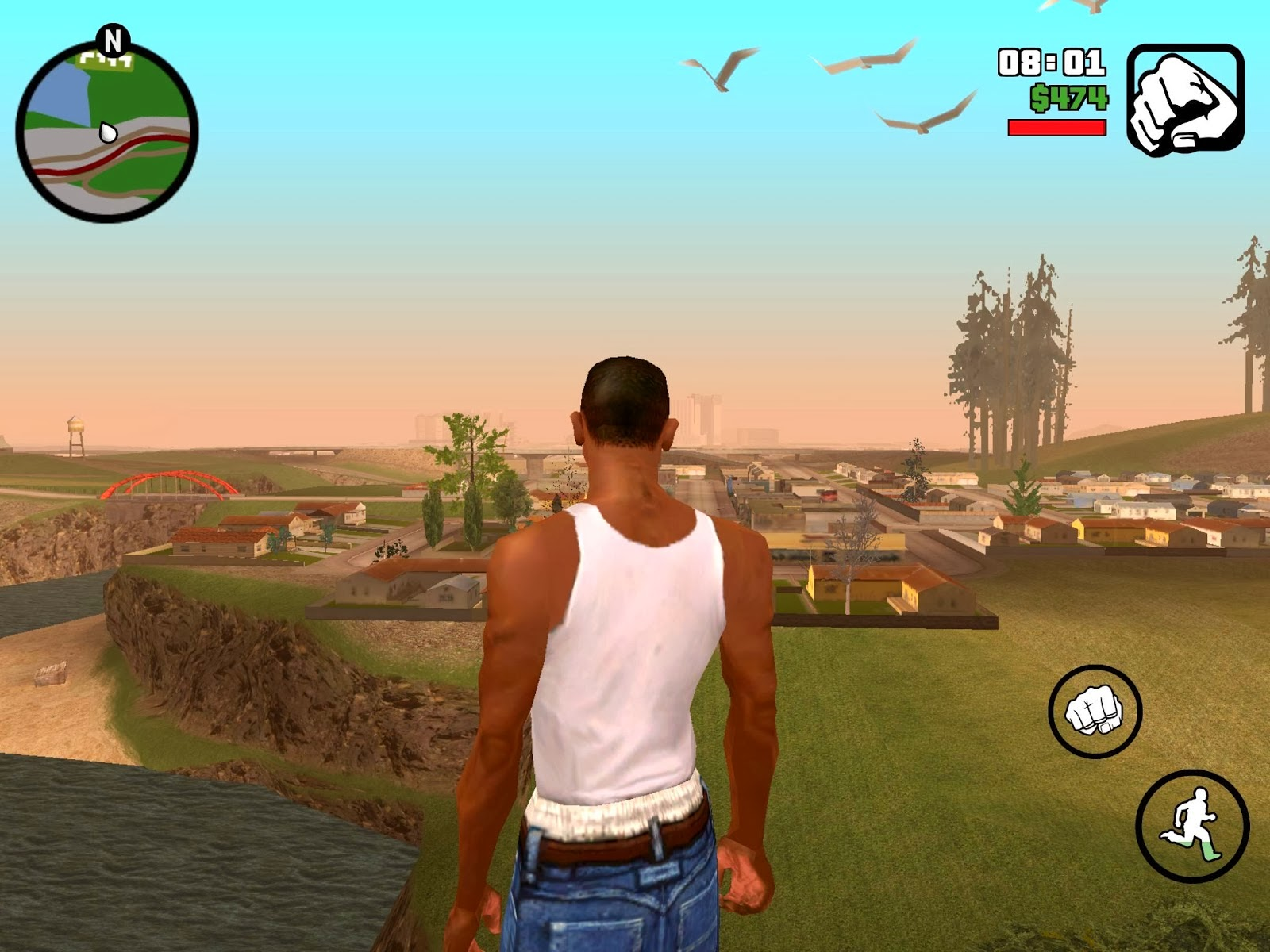 Download Game GTA San Andreas apk+data for android