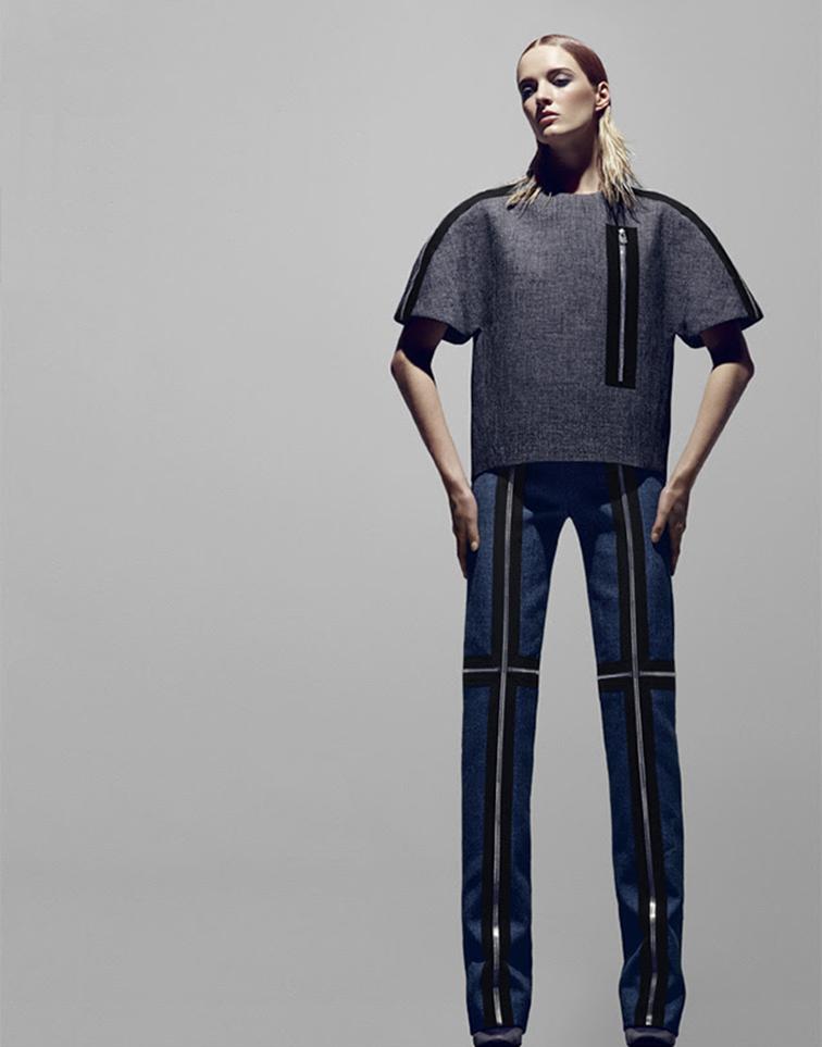 Daria Strokous for Bergdorfs