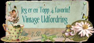 Topp 4 hos Vintage udfordring