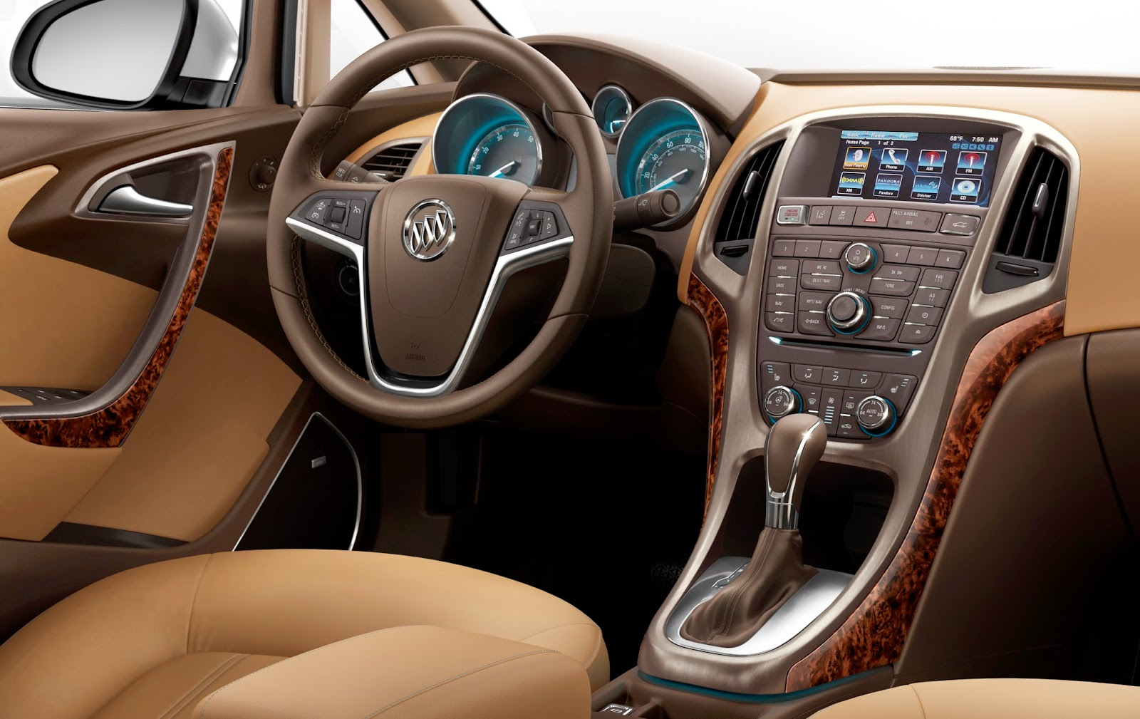 Interior View of 2014 Buick Verano