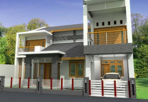 Atap Teras Rumah Minimalis | Rancangan Desain Rumah Minimalis