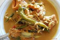 Resep masakan Gulai Eungkot Paya khas Aceh