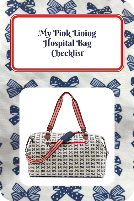 My Pink Lining Hospital Bag Checklist