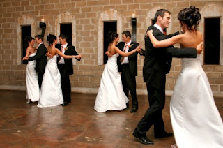 Wedding ballroom dance