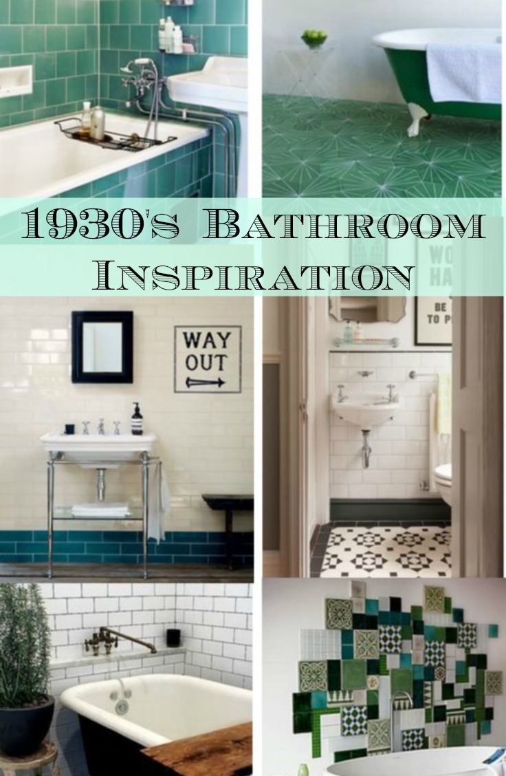 Vicki brown designs finding inspiration 1930 39 s for 1930 bathroom design ideas