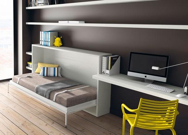 Camas abatibles y literas abatibles jjp - Habitaciones juveniles camas abatibles horizontales ...
