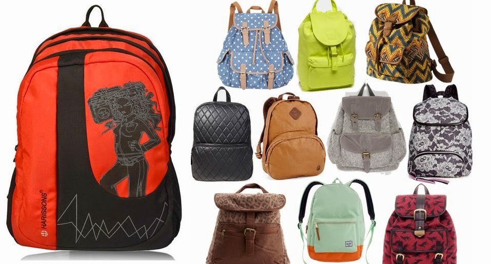 Shop the latest bags trend : Printed Backpacks
