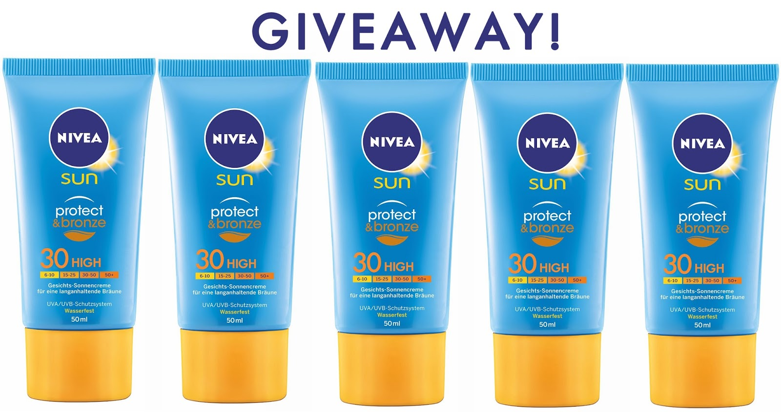 nivea sun protect and bronze face lotion