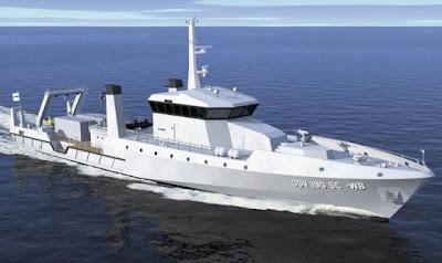 Kapal Oseanografi OCEA SA
