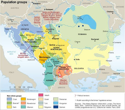 Balkans - Southeastern Europe Maps