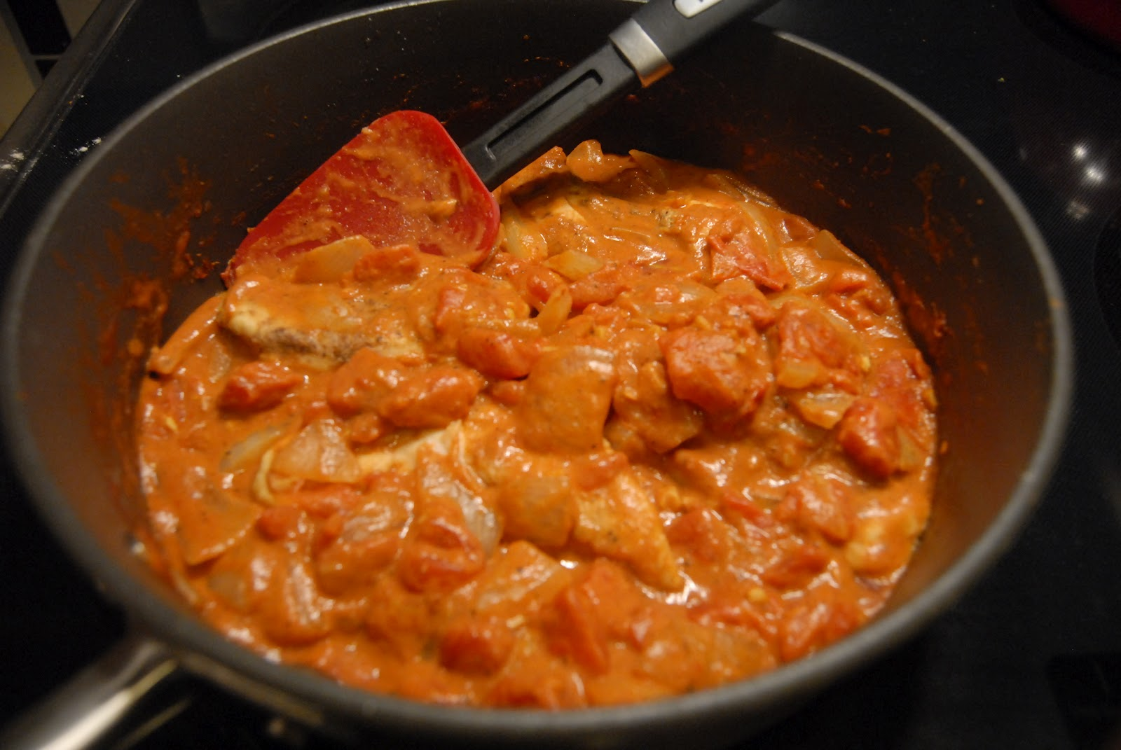 Two Skinny Moose: Quick Chicken Tikka Masala for Two