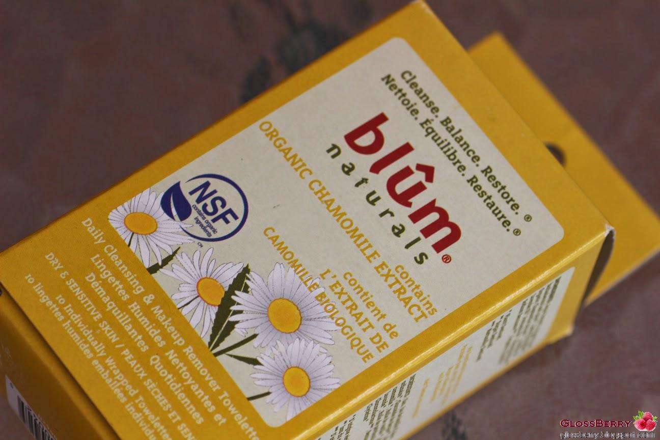 Blum Camomile Towlettes מגבונים BLUM
