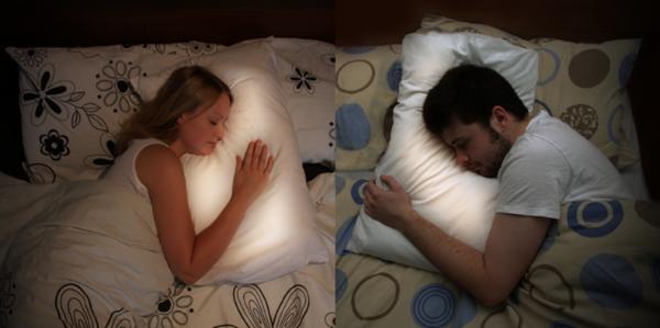 Relationship Pillows Keep Long-Distance Lovers From Feeling Lonely ...