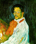 Self Portrait . Picasso 1901