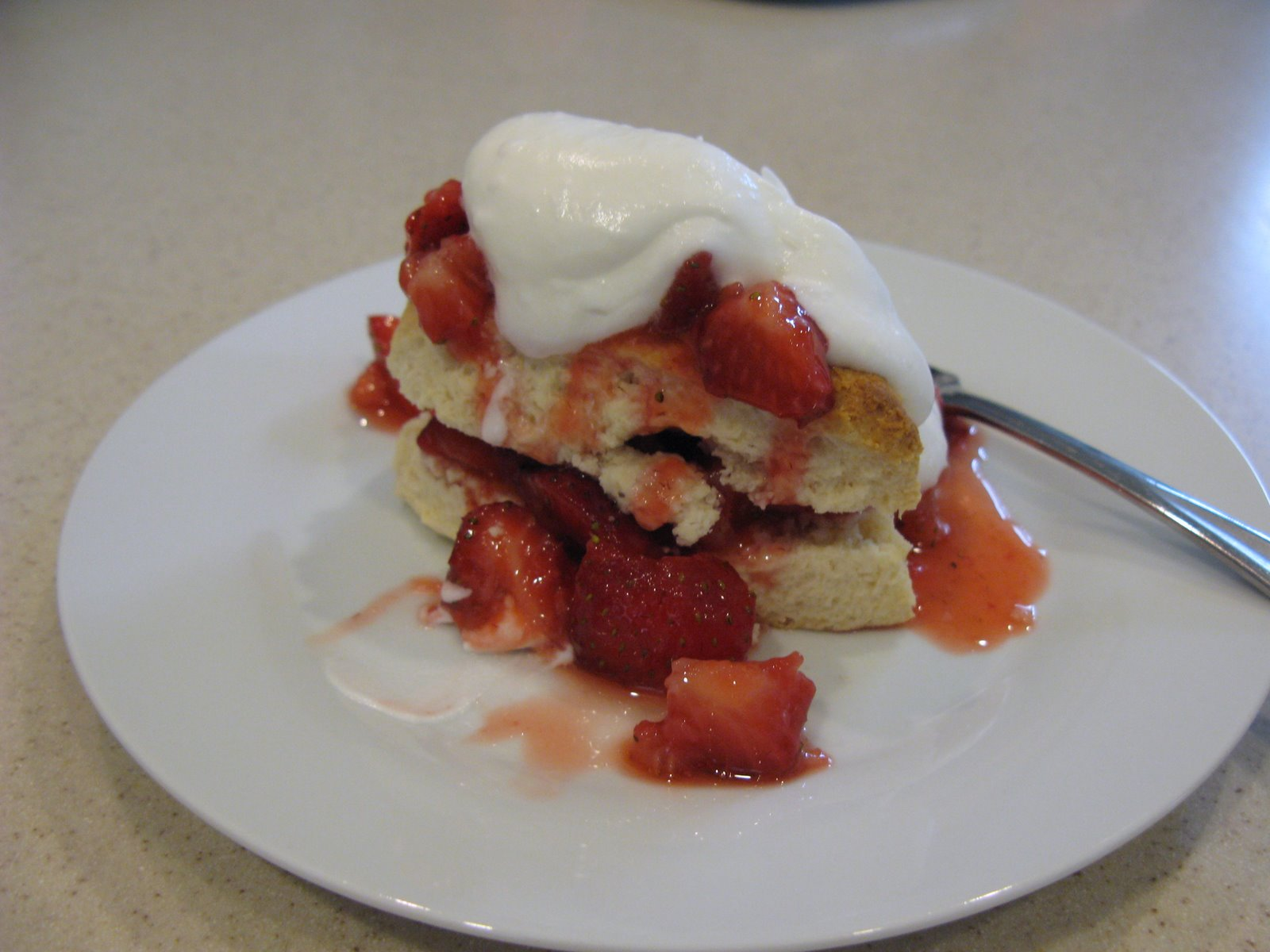 Strawberry Angel Food Cake - Sugar Free Cooking - Recipes, how to