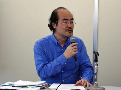 研究会の座長で国立情報学研究所の高野明彦氏