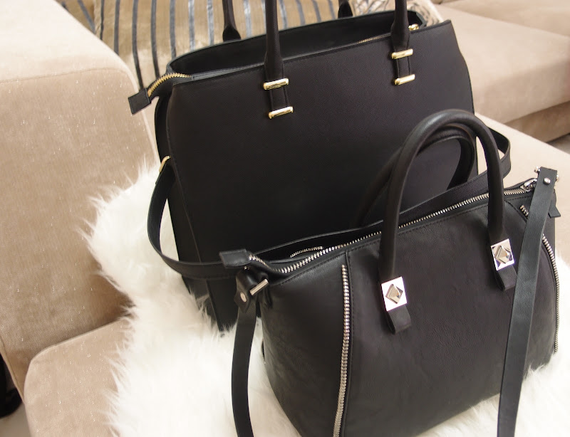 H&M bag, Zara bag