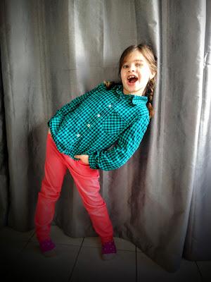 Pantalon de fille Lolie Hop Ottobre