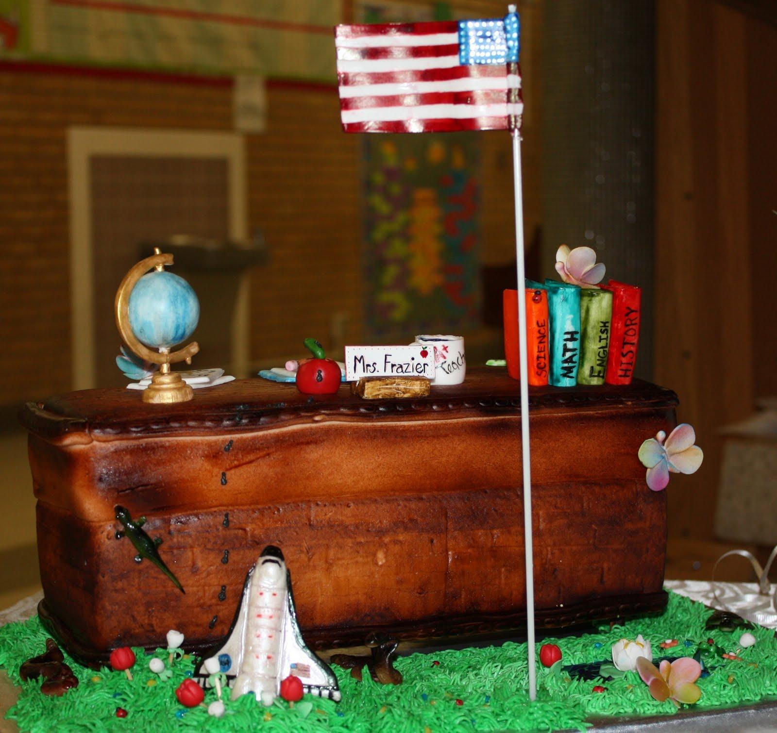 Birthday Cake For A Teacher Jo