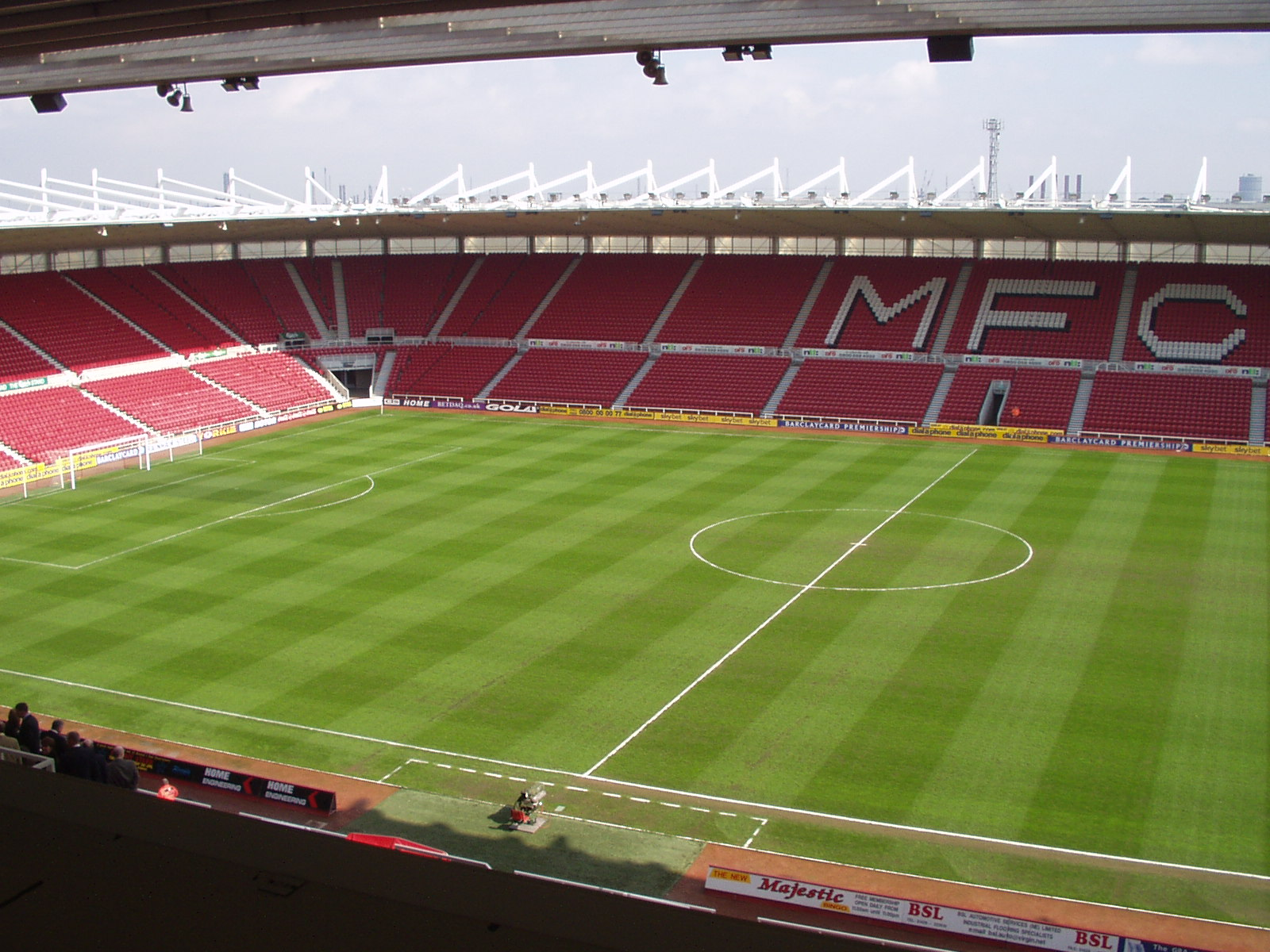 The Wycombe Wanderer Middlesbrough The Riverside Stadium