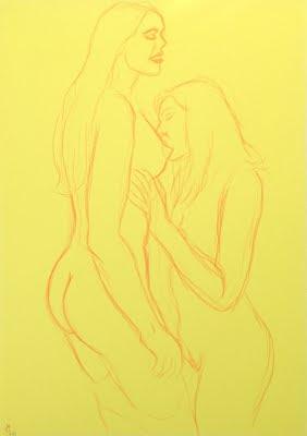 dessin erotique lesbiennes