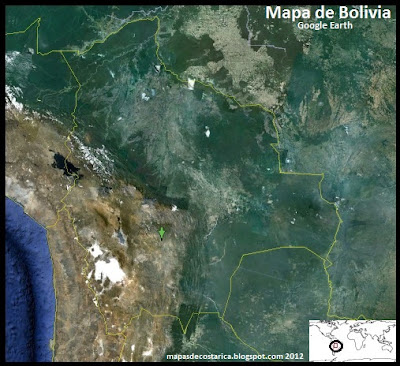 Bolivia , Google Earth