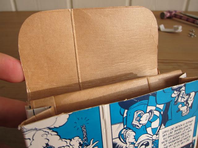 lommebok av melkekartong